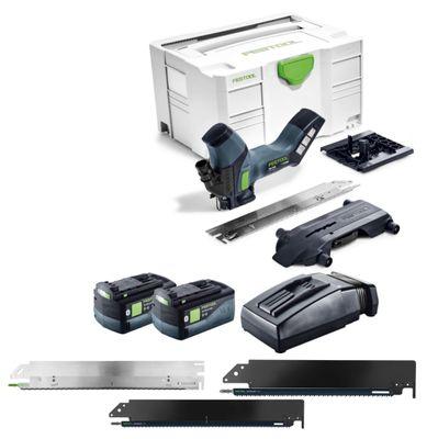 Festool ISC 240 Li 18 V Akku Dämmstoffsäge im Systainer mit 2x 5,2 Ah ASI Bluetooth Akkupack + TCL 6 Ladegerät + 4x Schneidegarnituren – Bild 3