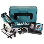 Makita DSS 501 RM1J 18V Li-ion Akku Handkreissäge im Makpac + 1x 4,0 Ah Akku + Ladegerät