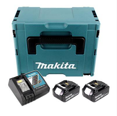 Makita 18 V Power Source KIT mit 2 x 6 Ah Akkus und Ladegerät im Makpac   – Bild 2