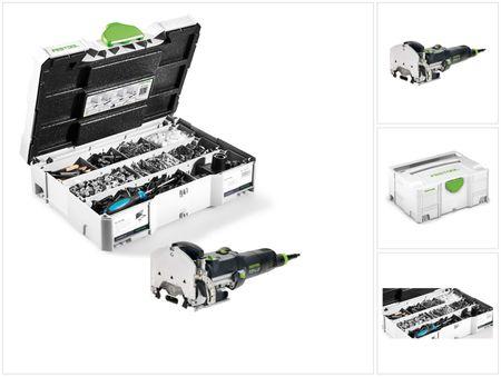 Festool DF 500 Q-PLUS Fraiseuse Domino 420 W avec boîtier Systainer + Système d'assemblage DOMINO KV-SYS D8 avec boîtier SYSTAINER – Bild 4