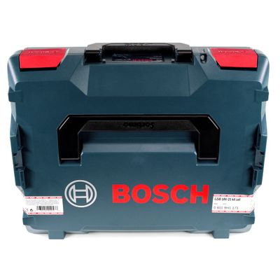 Bosch GSB 18 V-21 Professional 18 V Perceuse-Visseuse à percussion sans-fil + Coffret L-Boxx + 2x Batteries 2,0Ah + Chargeur GAX 18V-30 ( 06019H1171 ) – Bild 4
