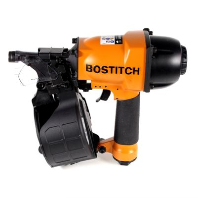 Bostitch N64099-1-E Druckluftnagler Coilnagler bis 8,3 Bar 2,3-2,5 mm x 30-65 mm mit Kontaktauslösung und Aluminiumgehäuse, F-Serie – Bild 3