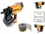 Bostitch N89C-1P-E Coilnagler N89C CT 90mm Max Druckluftnagler + 4050 St. Bostitch Coilnägel Ringschaft Blank 3,10 x 90 mm