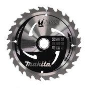 Makita M-FORCE Kreissägeblatt für Holz 165 x 20 x 2 mm 24 Zähne ( B-32007 )