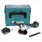 Makita DGA 513 G1J Akku Winkelschleifer 18V 125mm Brushless + 1x Akku 6,0Ah + Makpac - ohne Ladegerät