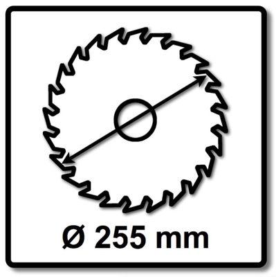 Makita MAKBLADE Kreissägeblatt für Holz 255 x 30 x 2,1 mm 48 Zähne ( B-32699 ) – Bild 3