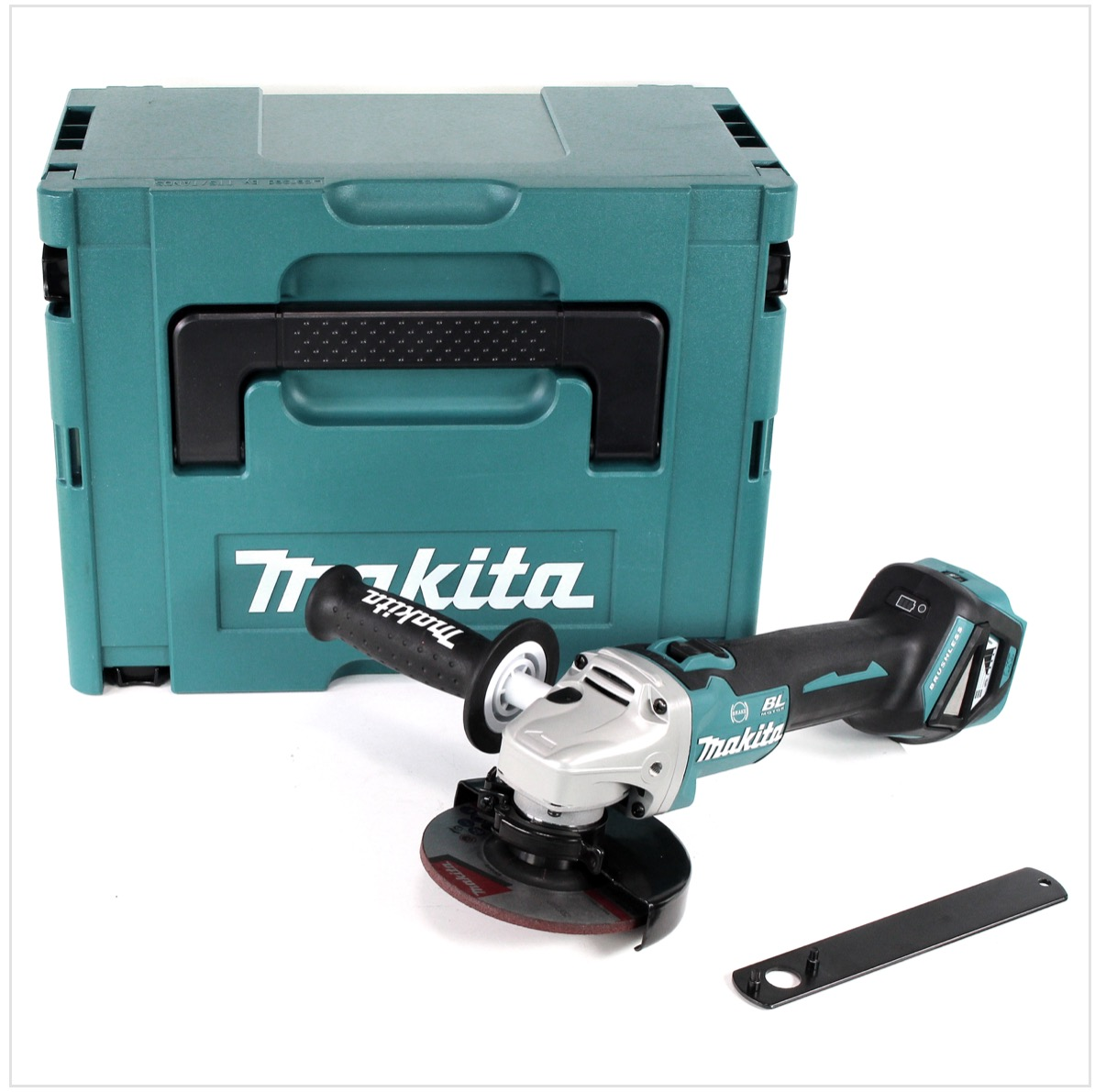 makita dga 513 zj akku winkelschleifer 18v brushless 125mm solo im makpac ohne akku ohne. Black Bedroom Furniture Sets. Home Design Ideas
