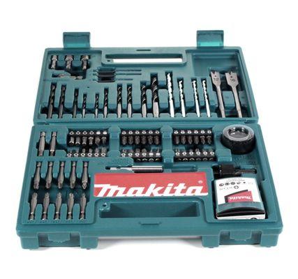 Makita B-53811 Bit & Bohrer-Set 100-teilig mit Bithalter in Kunstoffkoffer – Bild 5