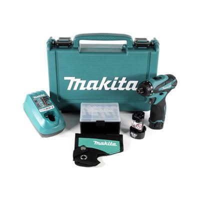 Makita DF 030 DWE Akku-Schrauber 10,8 V im Koffer + 2x 1,3 Ah Akku + Ladegerät – Bild 2