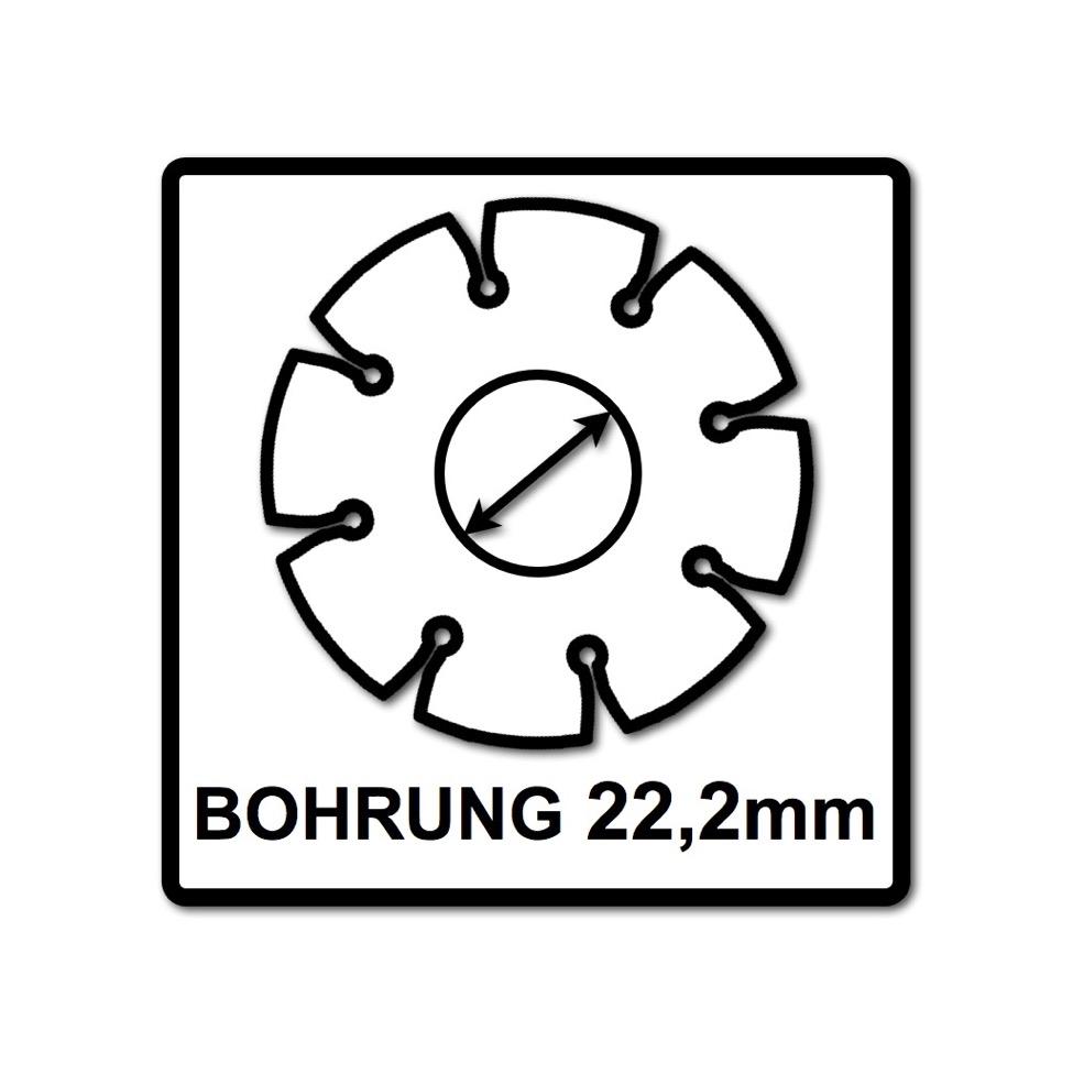 Bosch Trennscheiben Fur Metall 115 X 22 23 Mm Gekropft 25 Stuck