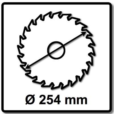Bosch Kreissägeblatt für Holz EX WO B 254 x 30 x 1,8 mm 60 Zähne ( 2608642530 ) – Bild 3