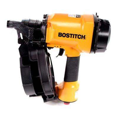 Bostitch N70CB-1-E Coilnagler Druckluftnagler Haftnagler im Karton + 7500 Coilnägel Ringschaft Blank 2,80 x 65 mm  – Bild 3