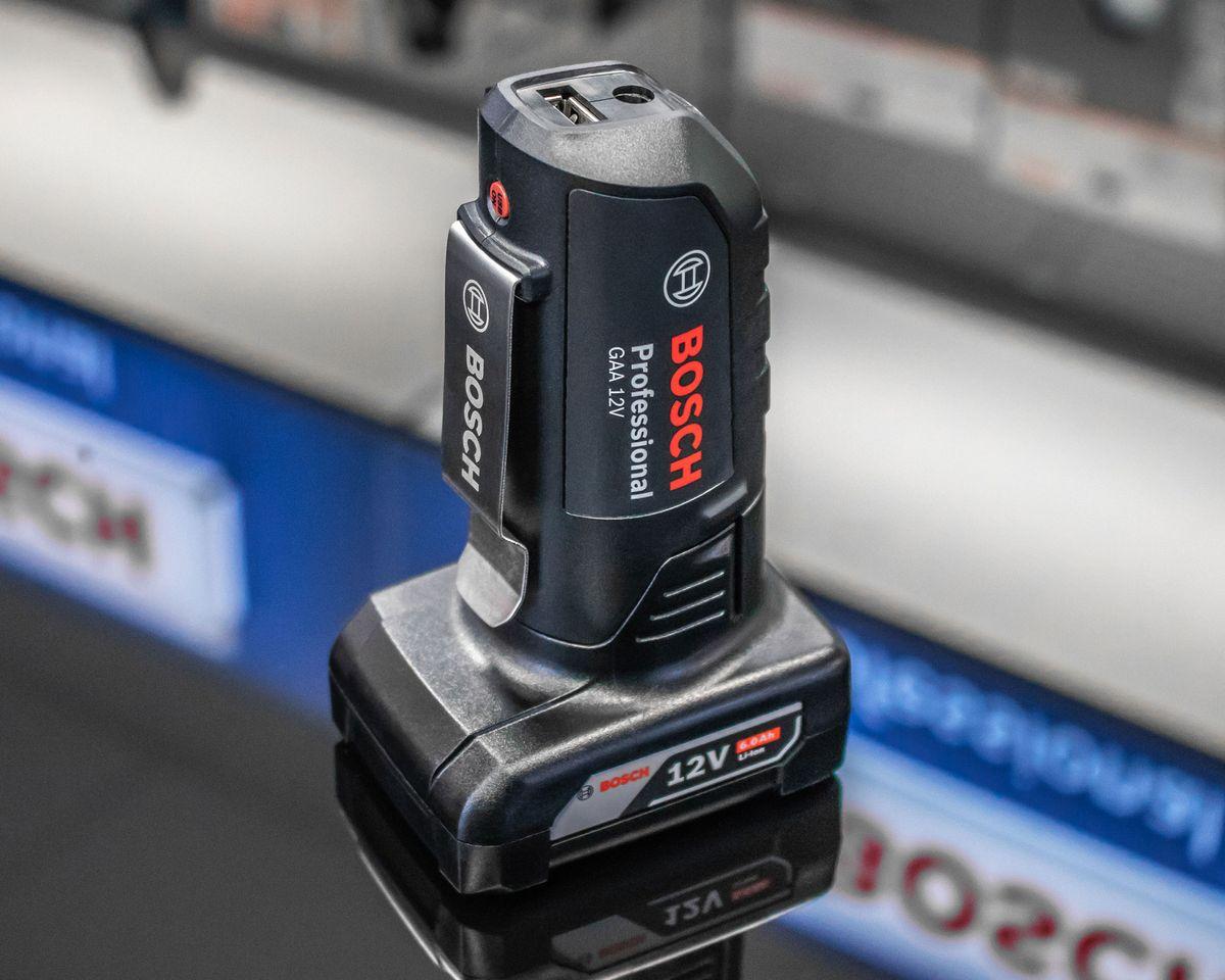 Bosch GAA 18 & 12 Volt USB Adapter - die Bosch-Powerbank! – Bild 2