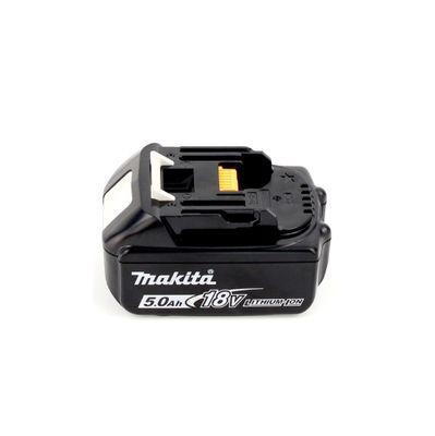 Makita DMR 202 T1 Baustellen Lautsprecher 18V - für Akku- und Netzbetrieb, mit Bluetooth-Funktion, AUX-Anschluss, USB-Port, LCD Display + 1x 5,0 Ah Akku - ohne Ladegerät – Bild 4