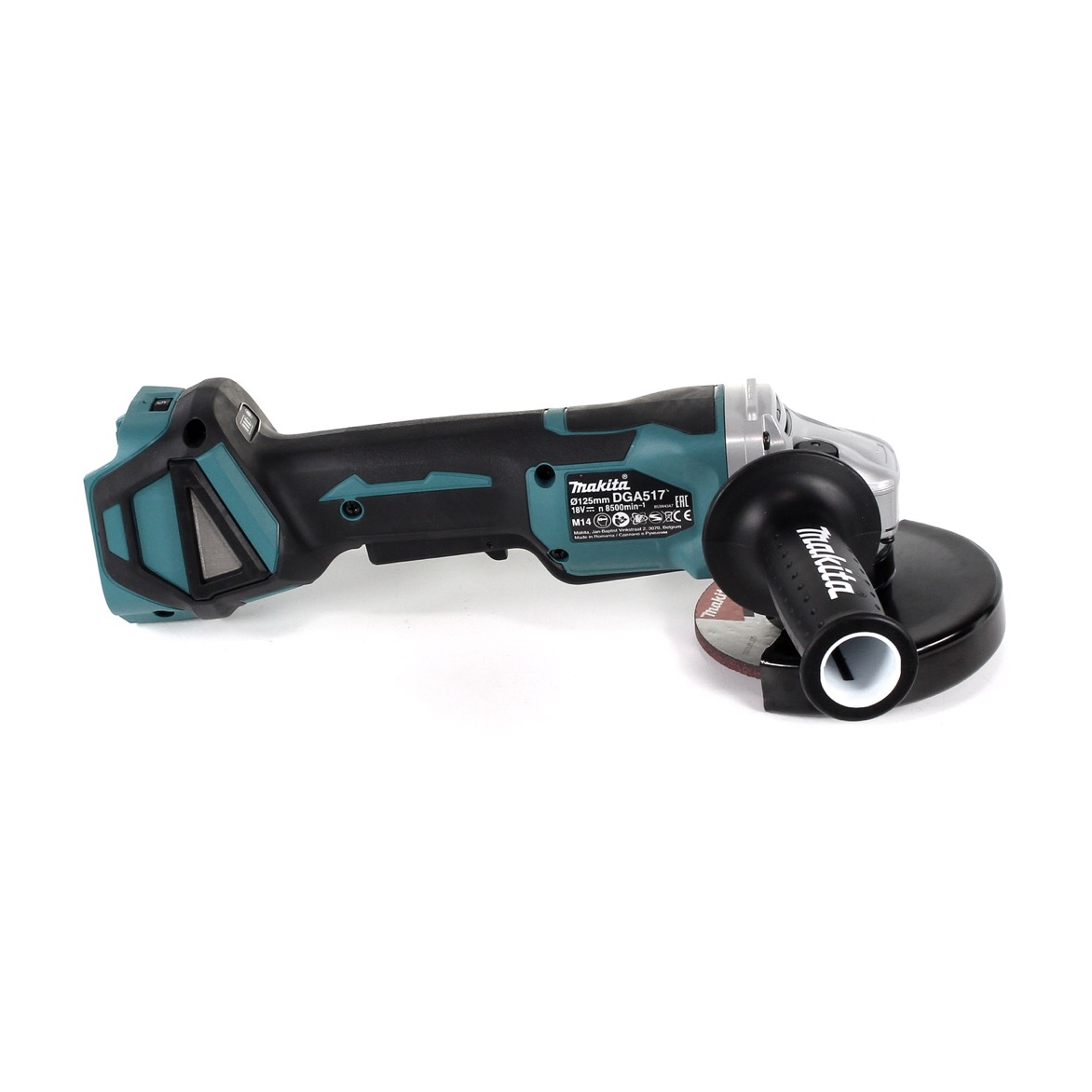 Makita Dga 517 Z Akku Winkelschleifer 18v Brushless 125 Mm Inklusive