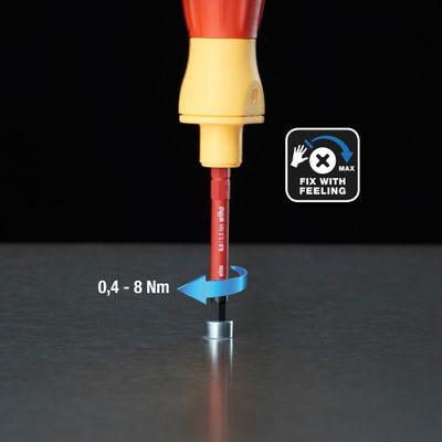 Wiha speedE® Kit de Tournevis électrique - Set 1 dans Coffret L-Box 10 pièces avec 2x Batteries 1,5Ah + Chargeur + Embouts (41911) – Bild 8