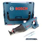 Bosch GSA 18 V-LI Professional 18 V Akku Säbelsäge Solo + L-Boxx + 1x Säbelsägeblatt für Stainless Steel - ohne Akku und Ladegerät