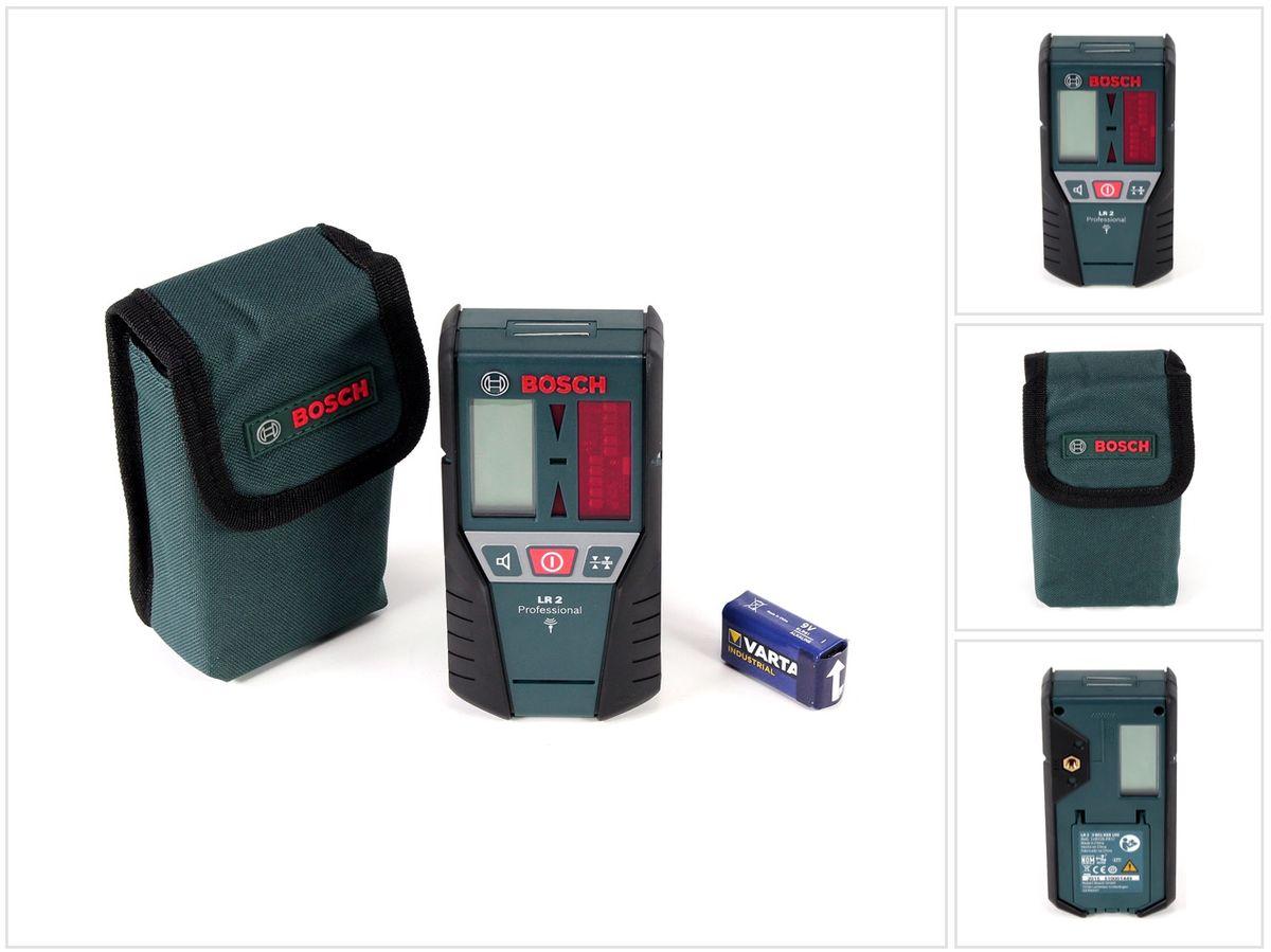 Bosch lr professional hochleistungsempfänger für linienlaser