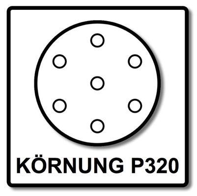 Festool Schleifscheiben STF D225 P320 GR S Granat Soft 25 Stk. ( 204227 ) – Bild 4