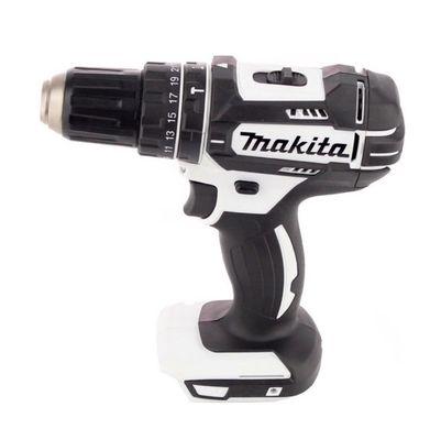 Makita DHP 482 W RTJ - 18 V Li-Ion Akku Schlagbohrschrauber im Makpac + 2x 5,0Ah Akku + Schnellladegerät + Makita B-53811 Bit & Bohrer-Set 100-teilig  – Bild 3