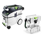 Festool CTL 36 E AC CLEANTEC Aspirateur mobile (574958) + Filtre cyclonique Festool CT CT-VA-20 (204083)