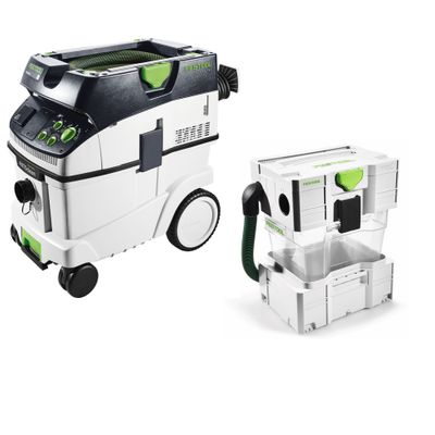 Festool Mobile dust extractor CTM 36 E AC CLEANTEC (574983) + Festool pre-separator CT-VA 20 CT (204083) – Bild 2