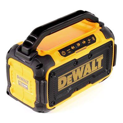 DeWalt DCR 011 10,8 - 18 V Akku Baustellen Lautsprecher mit Bluetooth Solo - ohne Akku und ohne Ladegerät – Bild 4