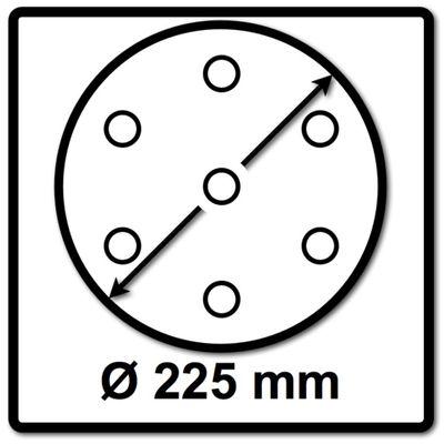 Festool Schleifscheiben STF 225 mm P180 GR S/25 Granat Soft 25 Stück ( 204225 ) – Bild 3