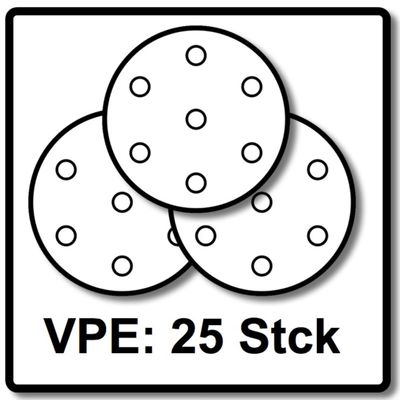 Festool Abrasifs STF 225 mm P180 GR S/25 Granat Soft 25 pièces ( référence: 204225 ) – Bild 5
