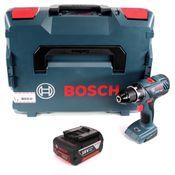Bosch Professional GSR 18V-28 Akku Bohrschrauber in L-Boxx + 1 x 3,0 Ah Akku - ohne Ladegerät