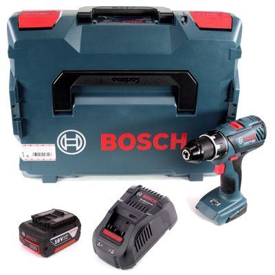 Bosch Professional GSR 18V-28 Perceuse -Visseuse sans fil + Coffret L-Boxx + 1 x Batterie 3,0 Ah + Chargeur – Bild 2