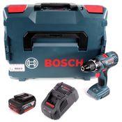 Bosch Professional GSR 18V-28 Akku Bohrschrauber in L-Boxx + 1 x 3,0 Ah Akku + Ladegerät