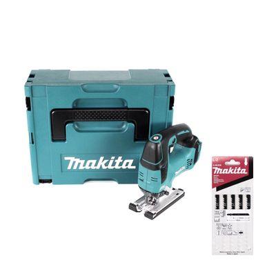 Makita DJV 182 ZJ Akku Stichsäge 18V Brushless 26mm Solo im Makpac + Makita L-2 Stichsägeblätter für Holz - 5 Stück ( A-86309 ) - ohne Akku und Ladegerät – Bild 2