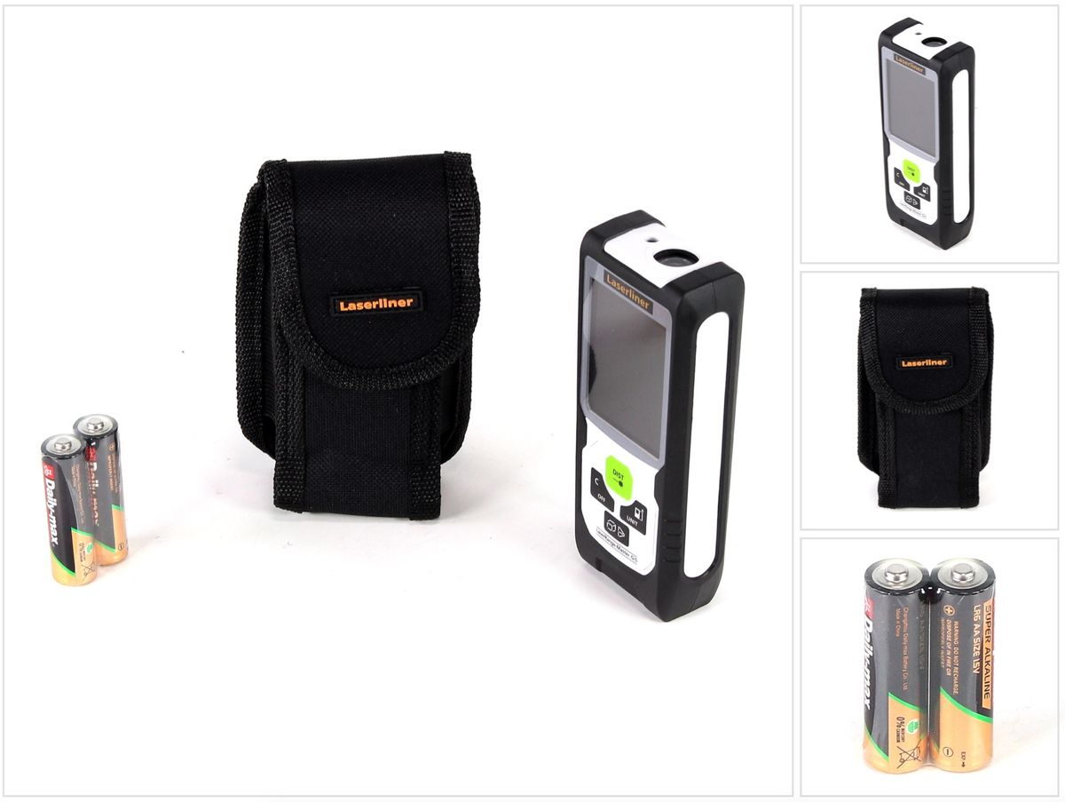 Makita Entfernungsmesser Ld080p : Laserliner laserrange master gi laser entfernungsmesser m grün