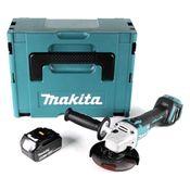 Makita DGA 511 M1J Akku Winkelschleifer 18V 125mm + 1x Akku 4,0Ah im Makpac - ohne Ladegerät