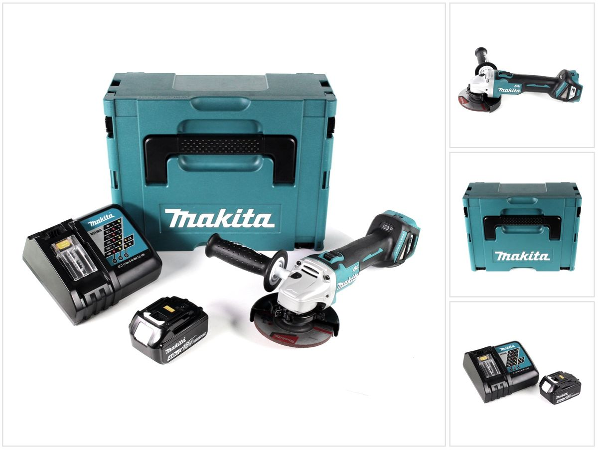Makita Entfernungsmesser Nikon : Makita dga rm j v li ion akku winkelschleifer brushless