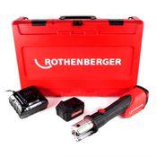Rothenberger ROMAX 4000 Basic Set Akku Pressmaschine 18V + 1x Akku 4,0Ah + Ladegerät + Koffer ( 1000001840 )