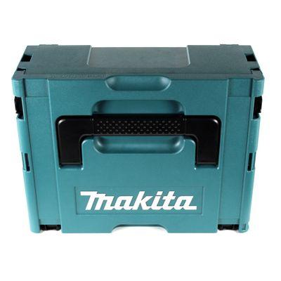 Makita DGA 511 RTJ Akku Winkelschleifer Brushless 18 V Li-Ion 125 mm im Makpac + 2 x 5,0 Ah Akku + Schnellladegerät – Bild 4