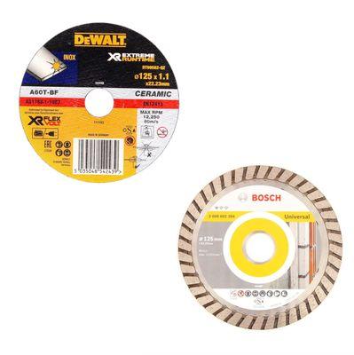 Makita DGA 504 SM1 18 V Li-Ion Akku Winkelschleifer 125 mm Brushless + 1 x 4,0 Ah Akku + Ladegerät + 2 x Trennscheiben - ohne Makpac – Bild 4