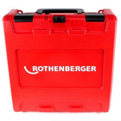 Rothenberger ROMAX Compact TT Set TH EU Akku Kompaktpressmaschine mit PB-Set TH16-20-26 elektrohydraulisch im Transportkoffer + 1 x 2,0 Ah Akku + Ladegerät + 3 x Pressbacken ( 1000002120 ) – Bild 4