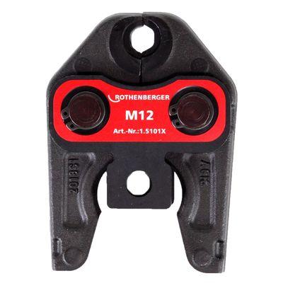 Rothenberger Pressbacke Presszange Standard M12 ( 015101X ) für ROMAX 4000 / Akku Press ACC etc – Bild 3