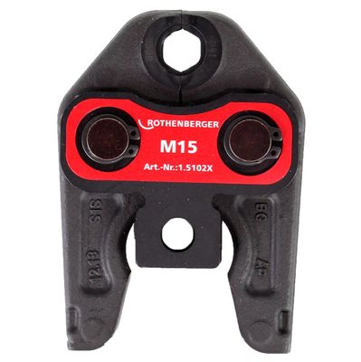 Rothenberger Pressbacke Presszange Standard M15 015102X ) für ROMAX 4000 / Akku Press ACC etc – Bild 3