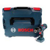 Bosch GSB 18 V-21 Perceuse-visseuse à percussion sans fil 18 V Li-Ion Solo + Coffret  L-Boxx - sans Batterie, sans Chargeur