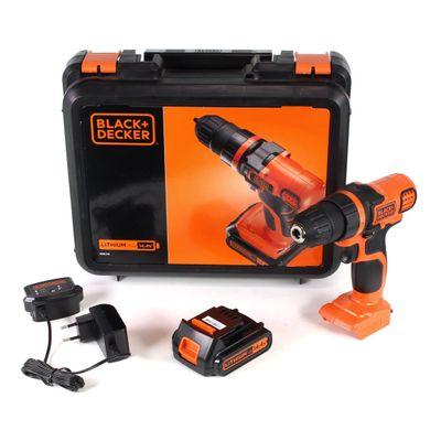 Black & Decker EGBL 14 K 14,4 V Li-Ion Perceuse visseuse sans fil + Coffret de transport + 1 x Batterie 1,5 Ah + Chargeur – Bild 2