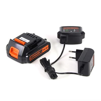 Black & Decker EGBL 14 K 14,4 V Li-Ion Perceuse visseuse sans fil + Coffret de transport + 1 x Batterie 1,5 Ah + Chargeur – Bild 5