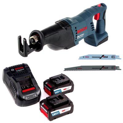 Bosch GSA 18 V-Li N 18 V Li-Ion Akku Säbelsäge im Karton + 2 x 6,3 Ah EneRacer Akku + Ladegerät - ohne Koffer – Bild 2