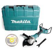 Makita DGA 901 ZKU2 Akku Winkelschleifer 36V ( 2x18V ) 230mm im Koffer + 5x Diamant Turbo Trennscheibe - ohne Akku und Ladegerät