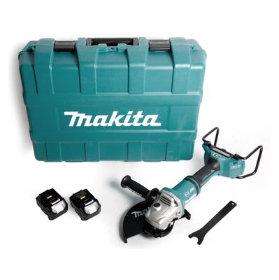 Makita DGA 901 M4KU2 Akku Winkelschleifer 36V ( 2x18V ) 230mm im Koffer + 2x 4,0Ah Akku - ohne Ladegerät – Bild 2