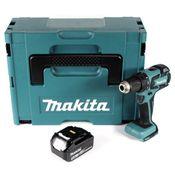 Makita DDF 459 T1J Akku Bohrschrauber 18V 45Nm im Makpac + 1x 5,0 Ah Akku - ohne Ladegerät