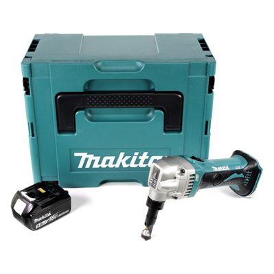 Makita DJN 161 T1J 18 V Akku Knabber Schere im Makpac + 1 x BL1850 5,0 Ah Akku - ohne Ladegerät – Bild 2